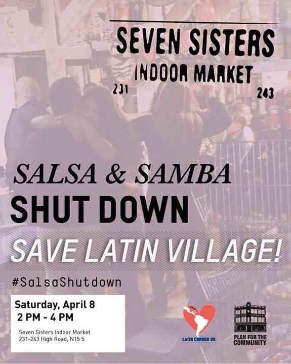 Salsa Samba Shutdown April 2017